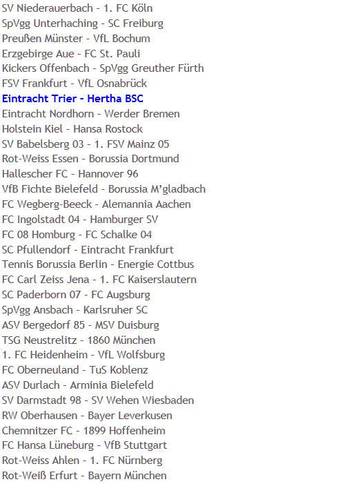 Glücksfee Steffi Jones DFB-Pokal-Auslosung 2008-2009