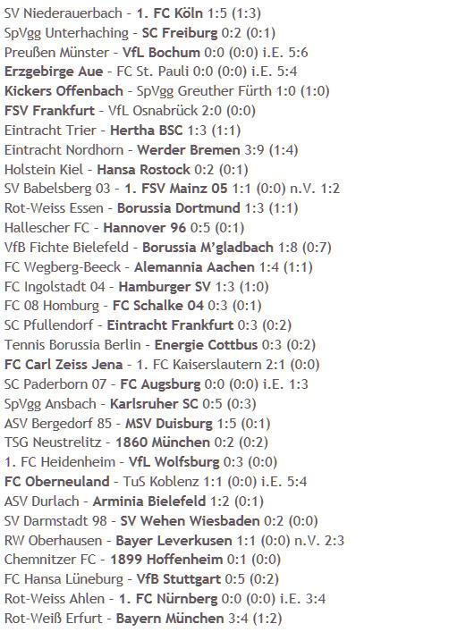 DFB-Pokal Eintracht Trier Hertha BSC