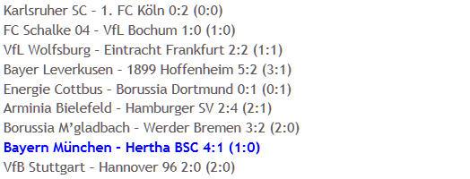 Bayern München Hertha BSC Aufbaugegner Allianz Arena