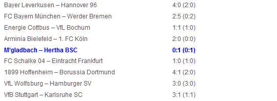 Borussia M'gladbach Hertha BSC Gojko Kacar Tor
