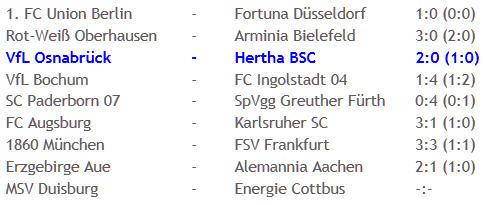 VfL Osnabrück Hertha BSC Schiedsrichter Wolfgang Stark