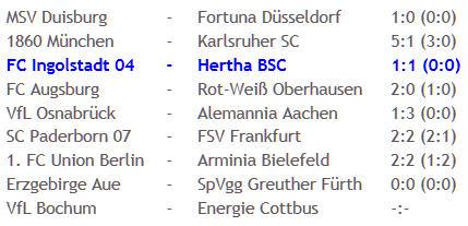 FC Ingolstadt 04 Hertha BSC Schiedsrichter Tobias Welz 2011-03-21