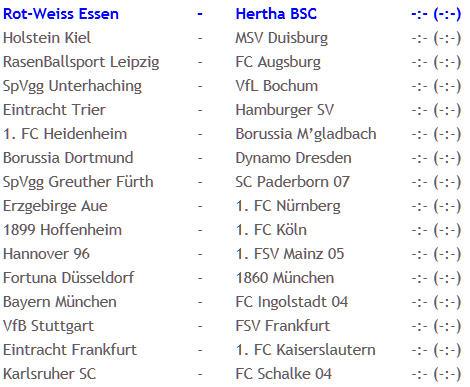 Glücksfee Sara Nuru Rot-Weiss Essen Hertha BSC