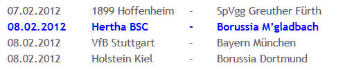 Hertha BSC Gladbach Glücksfee Melanie Behringer 2011-12-27