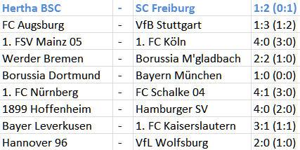 Eigentor Roman Hubnik Hertha BSC SC Freiburg