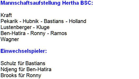 Ersatz-Verteidiger MSV Duisburg Hertha BSC