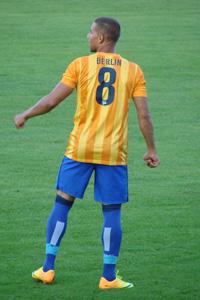 Marcel Ndjeng Hertha Testspiel Irdning
