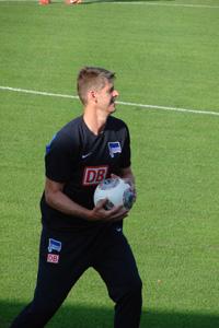 Richard Golz Hertha-Torwart-Trainer