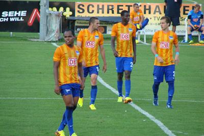 Testspiel Hertha BSC - FK Rad Belgrad 1-1