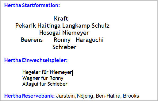 mannschaftsaufstellung-hertha-bsc-werder-bremen-2014-08-25