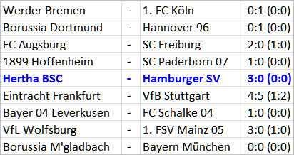 Matchwinner Änis Ben-Hatira Hertha BSC - Hamburger SV