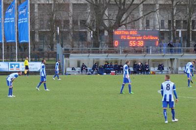 Testspiel Hertha BSC Energie Cottbus 1:1