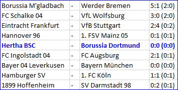 Jens Hegeler Hertha BSC - Borussia Dortmund