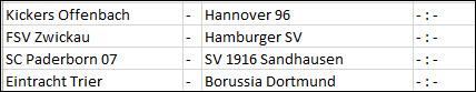 Ergebnisse der 1. DFB-Pokal-Runde 2016/17 -02