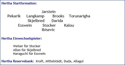 Mai 2017 - Mannschaftsaufstellung - RB Leipzig - Hertha BSC