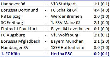Vedad Ibisevic Davie Selke 1. FC Köln - Hertha BSC – 0:2