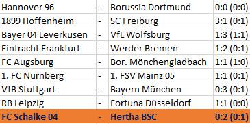 Mut Pal Dardai FC Schalke 04 Hertha BSC