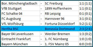 Platzverweise Ibisevic und Torunarigha Hertha BSC Borussia Dortmund