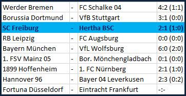 Tor und Eigentor von Vedad Ibisevic SC Freiburg Hertha BSC