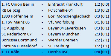 Vedad Ibisevic mit Doppelpack 1. FC Köln - Hertha BSC