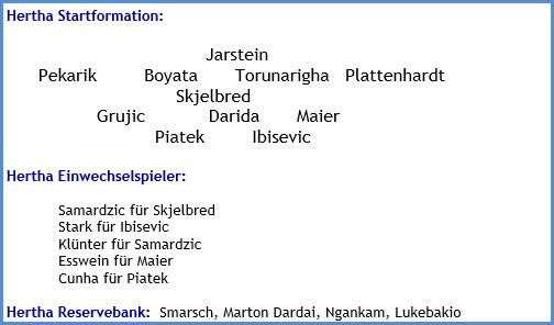 Hertha BSC - Eintracht Frankfurt - 1:4 (1:0) - Mannschaftsaufstellung - Juni 2020